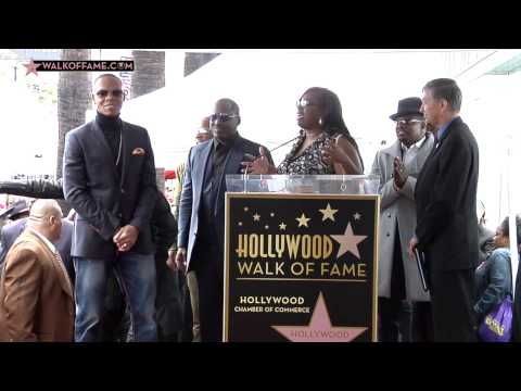 New Edition Walk of Fame Ceremony