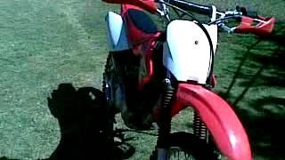 7. 2008 Honda CRF100F cold start