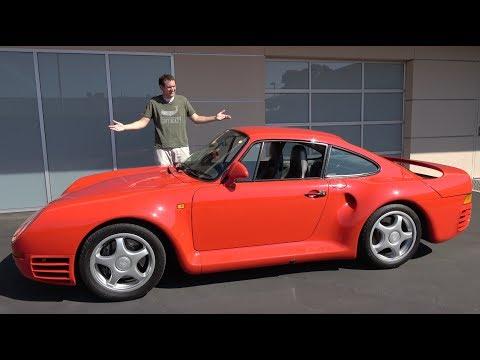The Porsche 959 Is a $1.5 Million Automotive Icon_Autós videók