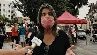 Comunidade insatisfeita com o projeto da Praça de Periperi