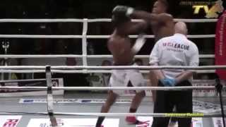 Danyo Ilunga: Left-Hook Counter Against Knees