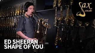 Ed Sheeran - Shape of You - Saxophone Cover
