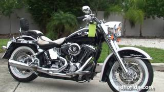 6. Used 2005 Harley Davidson Softail Deluxe Motorcycle for sale Atlanta Georgia
