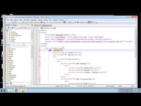 Learn HTML5 and CSS3 | Create Transition Dropdown Menu | Menu CSS | Eduonix - Part - 4