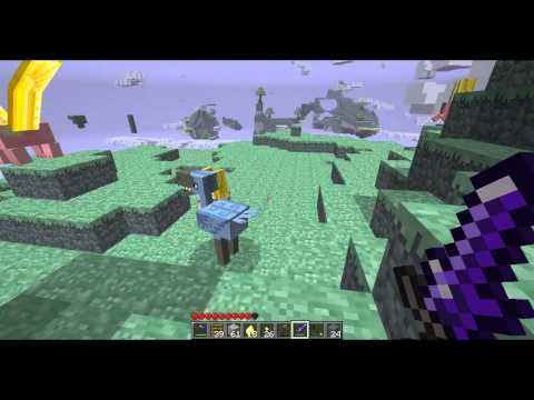Minecraft Aether Mod lets play ep 3