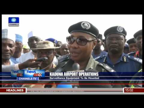 Surveillance Equipment To Be Mounted In Kaduna Airport (видео)