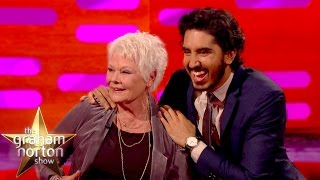 Video Dev Patel Explains Genital Joke To Dame Judi Dench - The Graham Norton Show MP3, 3GP, MP4, WEBM, AVI, FLV Desember 2018