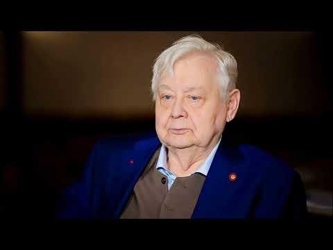 Печальное интервью. Рассказывает актёр театра и кино Олег Павлович Табаков. 2004 год.