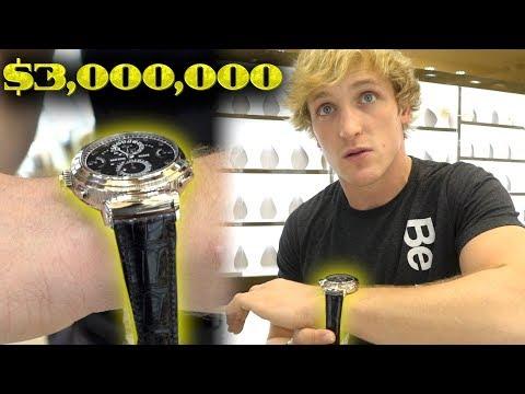 Status profundos - MY NEW $3,000,000 WATCH!