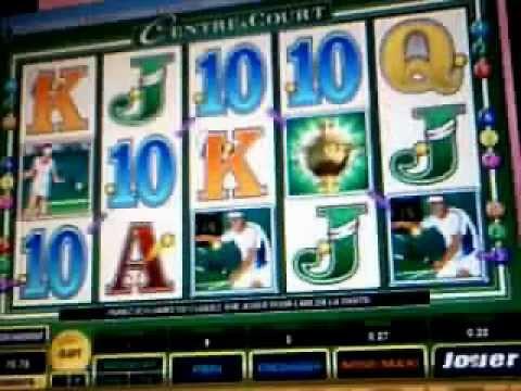 Centre Court ◊♦ Slot - machine à sous - casino en ligne