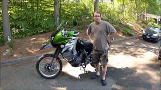 3. 2008 Kawasaki KLR650, 20,000 Mile Extended Review
