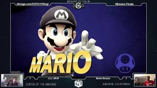 COTU XI Winners Finals – LLL | Mr.R (RYU) Vs. MastaZenyouX (Mario)