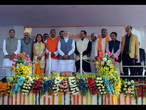 PM Modi at Swearing-in Ceremony of the new Goverment of Uttarakhand
