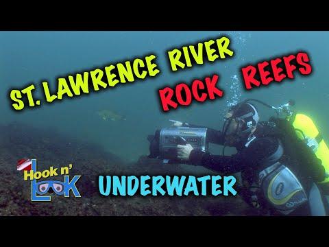 St  Lawrence River Rock Reefs - UnderwaterSt  Lawrence River Rock Reefs - Underwater<media:title />