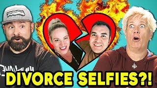 Divorced selfies reacted to by Parents! Original links below! Watch all main React episodes ...