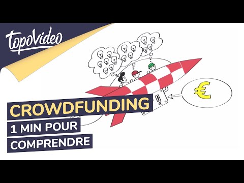 1 minute pour comprendre le crowdfunding