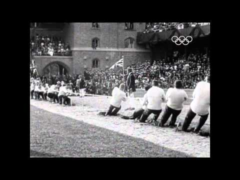 Olympic Tug Of War - Stockholm 1912
