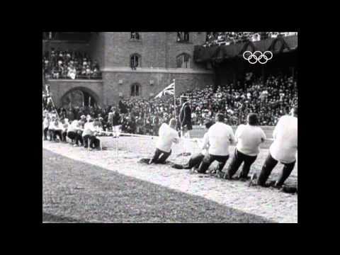 Olympic Tug Of War - Stockholm 1912
