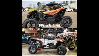 2. 2019 RZR Turbo or Maverick X3 XDS - New Unit 4K