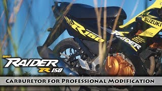 3. Raider R150 Hyper Underbone | Carburetor | Color Black-Yellow | Suzuki Philippines | Motorsiklo 2018