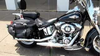 6. 2012 Harley-Davidson Heritage Softail Classic, loaded, for sale in Texas, hear it run