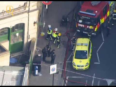 شاهد.. تفجير في #مترو_لندن