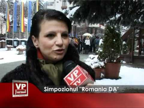 "Simpozion ""România DA"""