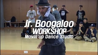 Jr.Boogaloo – Movin'up Dance studio Popping Workshop