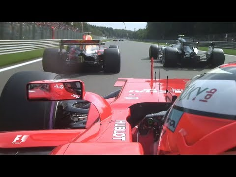 F1: Top 10 Overtakes of 2017