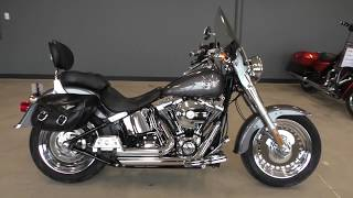 3. 020120   2016 Harley Davidson Softail Fat Boy   FLSTF Used motorcycles for sale