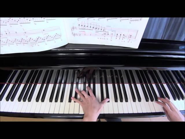ショパン・ノクターン第1番連符の弾き方です。