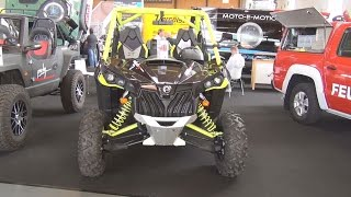 8. BRP Can-Am Maverick X ds 1000R Turbo (2016) Exterior and Interior in 3D