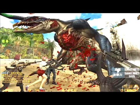 Counter-Strike Nexon: Zombies - Dione Zombie boss Fight online gameplay on Toxicity map
