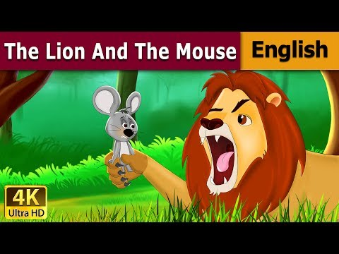 Lion and the Mouse in English | Story | English Fairy Tales
