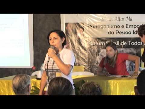 Matéria Conferência dos Idosos 2015 - Aldeias Altas - MA
