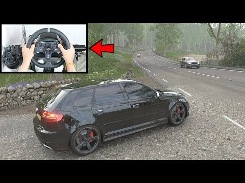 Forza Horizon 4 Audi RS3 Sportback (Steering Wheel + Paddle Shifter) Gameplay