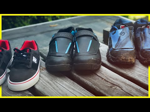 How to choose Flat Pedal mountain bike Shoes | Skills with Phil