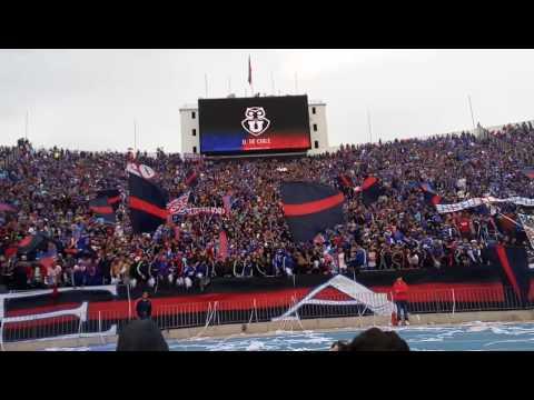 Salida U. de Chile vs las monjas 27/08 - Los de Abajo - Universidad de Chile - La U