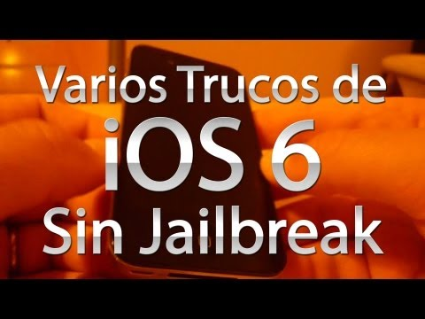 ios 6 - Review del iOS 6: http://youtu.be/dZf0O8DA2sA Varios trucos del iOS 5: http://youtu.be/47Hjp0CnVzY Varios trucos del iOS 7: http://youtu.be/fMKE_1tgaK0 Por f...