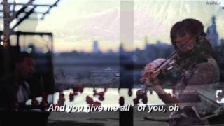 All Of Me - John Legend & Lindsey Stirling (lyrics)