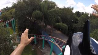 My son and I had a great time riding the Shamu roller coaster at SeaWorld Orlando, FL.  Thanks for watching AdventureLandTV.