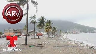 Huracán Irma deja fuertes vientos en República Dominicana | Al Rojo Vivo