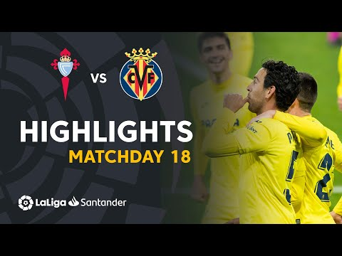 Highlights RC Celta vs Villarreal CF (0-4)