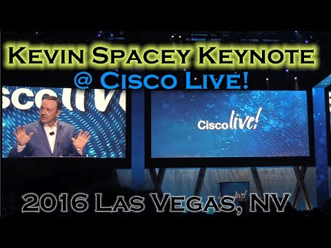 Jokes - Cisco Live 2016 - Kevin Spacey Keynote
