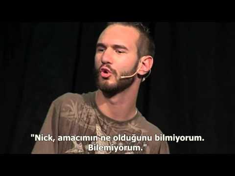 Nick Vujicic Turkce Altyazili Harika Bir Seminer