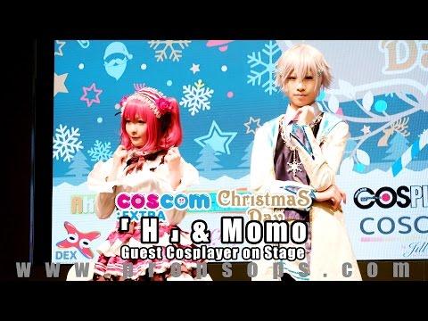 『H』 & Momo สองสาวสองสไตล์คอสเพลย์บนเวทีงาน COSCOM EXTRA Christmas Day