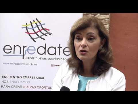 Entrevista a Ana Botella, Dpto Emprendedores IVACE, en Enrédate Alzira