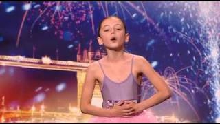 If you like, please subscribe ^above^10 year old Hollie Steel who is tipped to be a strong contender against Susan Boyle in the final.