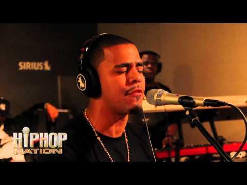 J Cole performs 'Lost Ones' w-DJ Envy on Hip Hop Nation