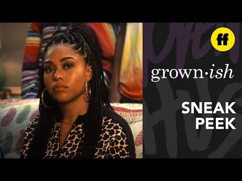 grown-ish Season 2, Episode 19 | Sneak Peek: Jordyn Woods Makes Her Acting Debut | Freeform